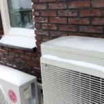 warmtepomp in de winter